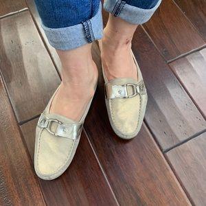 Attilio Giusti Leombruni AGL Mule Shoes